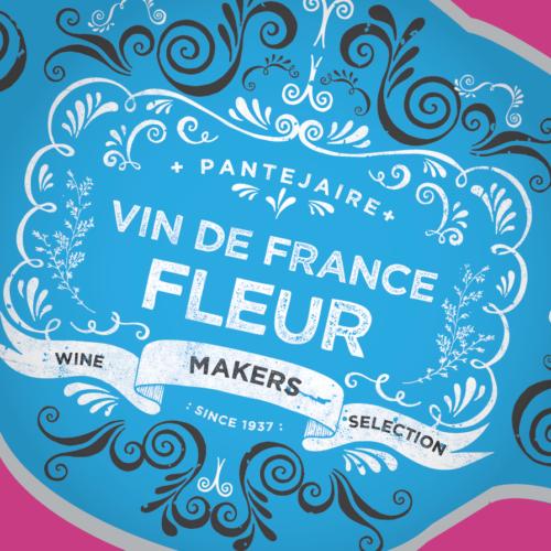 Wine label redbrand for waitress