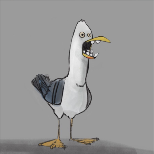 Sausage The Seagull