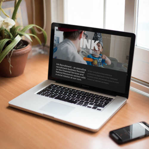 Ink recrutiment website