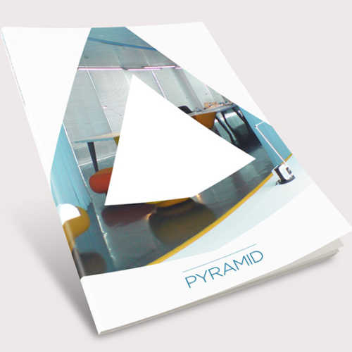 Martin McCully branding for Pyramid AV