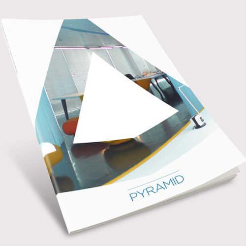 Martin McCully branding for Pyramid AV